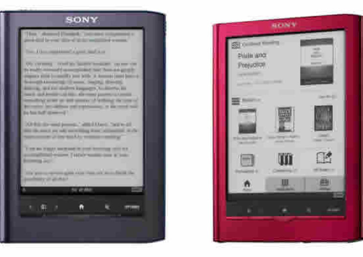 Sony Reader Pocket Edition and Sony Reader Touch Edition refreshed