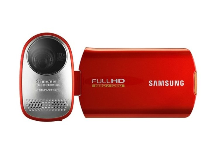 Samsung unveils HMX-T10 full HD camcorder