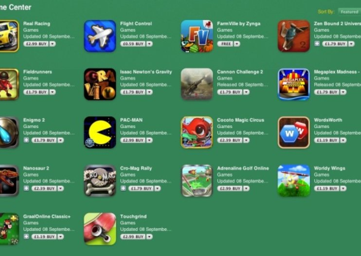 Top 10 Apple Game Center games