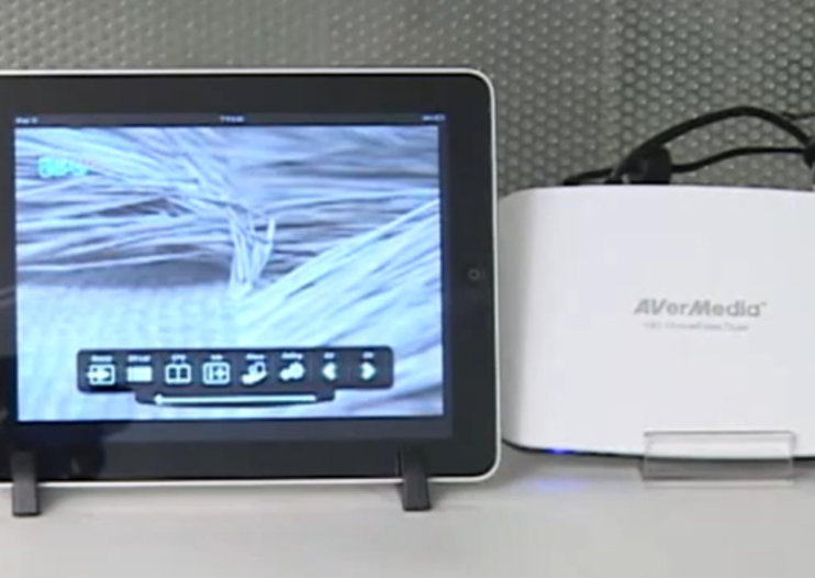 Watch Freeview TV on an iPad or two - care of AverMedia HomeFree Duet and app