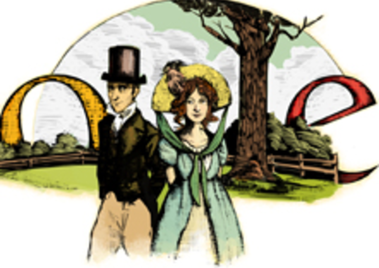 Google Doodle celebrates Jane Austen's birthday