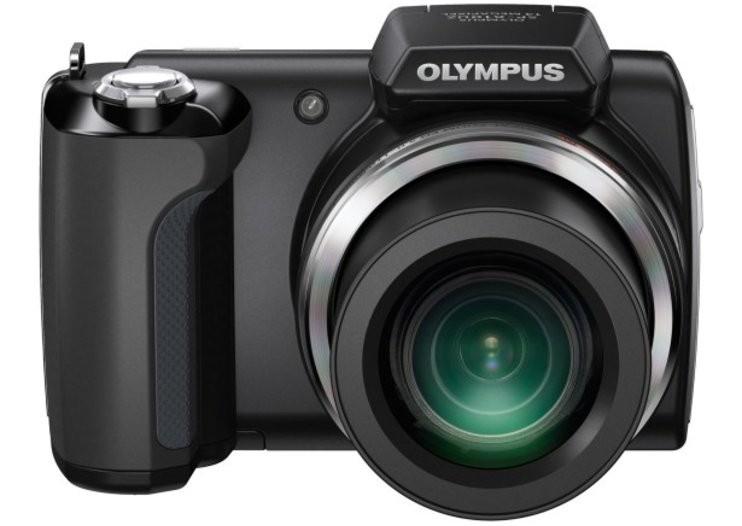 Olympus SP610U camera zooms onto the scene