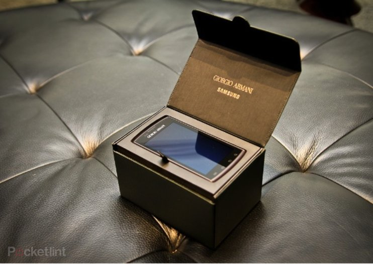 Samsung Giorgio Armani Galaxy S hands-on