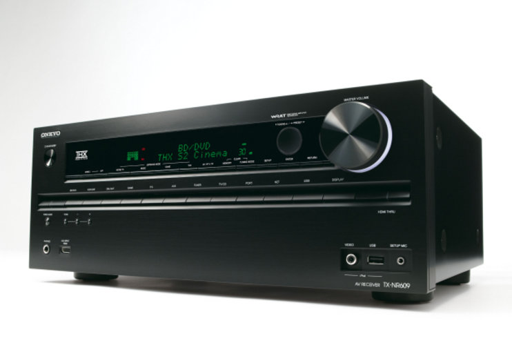 Onkyo TX-NR609 leads the receiver pack in new 2011 lineup