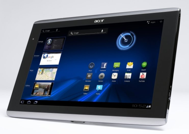 Acer Iconia Tab trio detailed