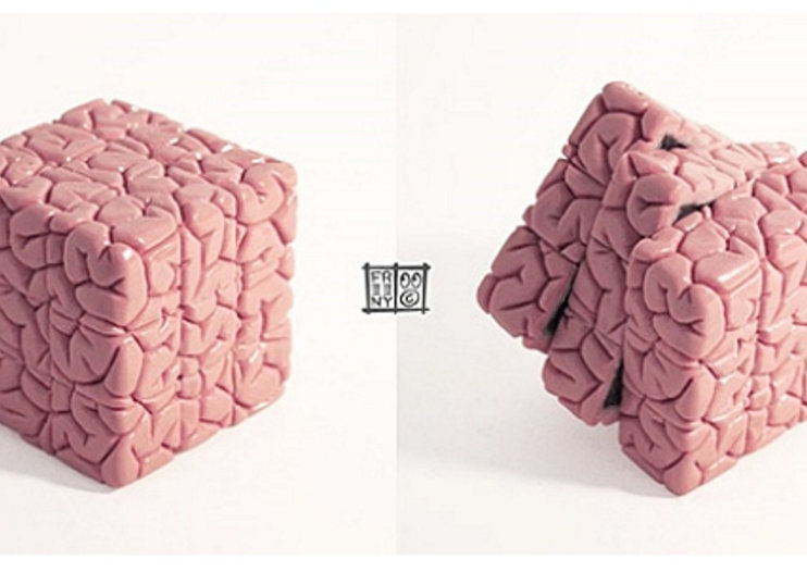 Rubik's Cube with a brainy twist