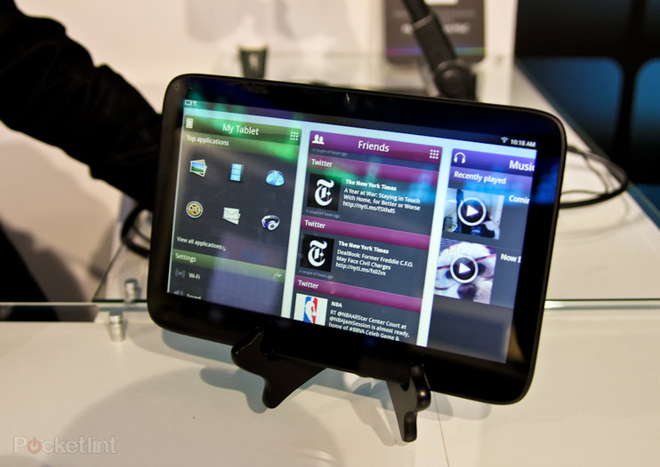 MeeGo tablet interface hands-on
