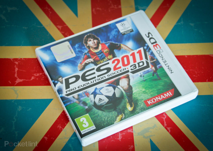 Nintendo 3DS: PES 2011 3D hands-on