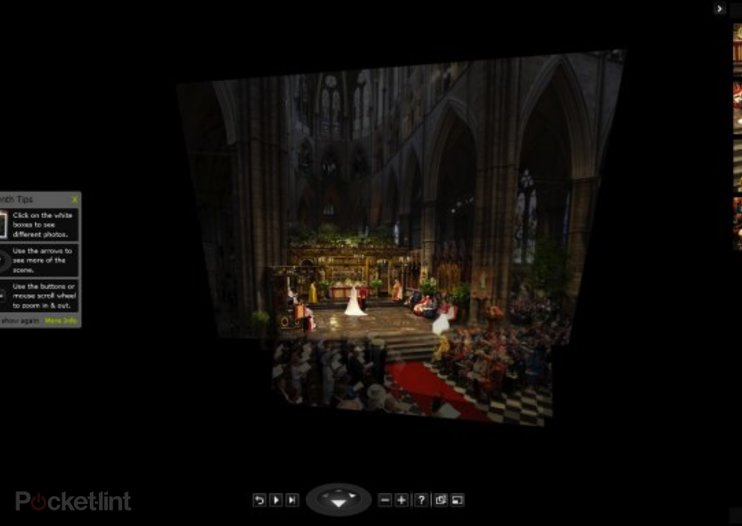 Royal Ceremony at Westminster Abbey gets Photosynth treatment