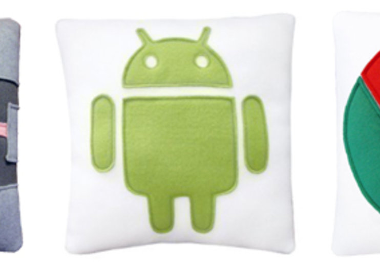 Geek pillows come in Android, Chrome and Portal 2 flavours