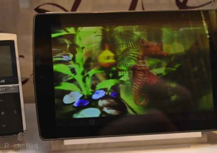 Asus 3D Eee Pad MeMO: Glasses-free tablet 3D, we go hands-on