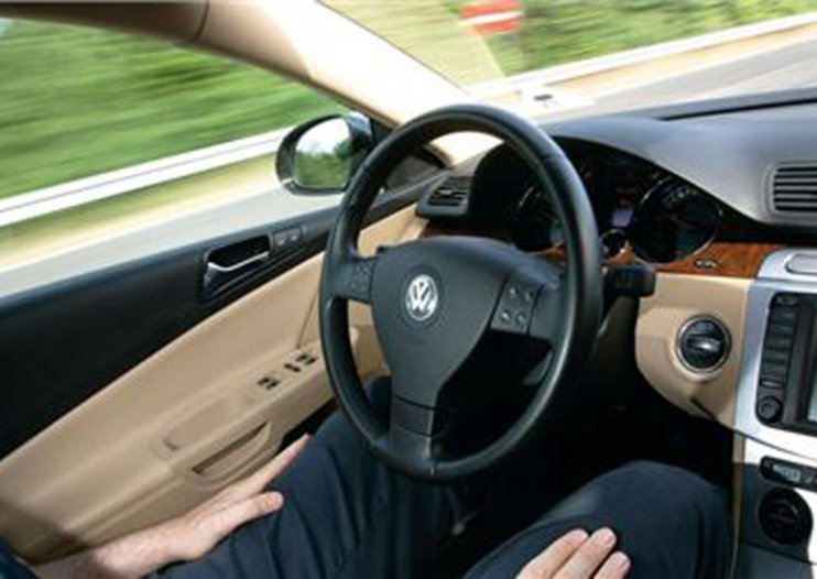 A Volkswagen that can drive itself