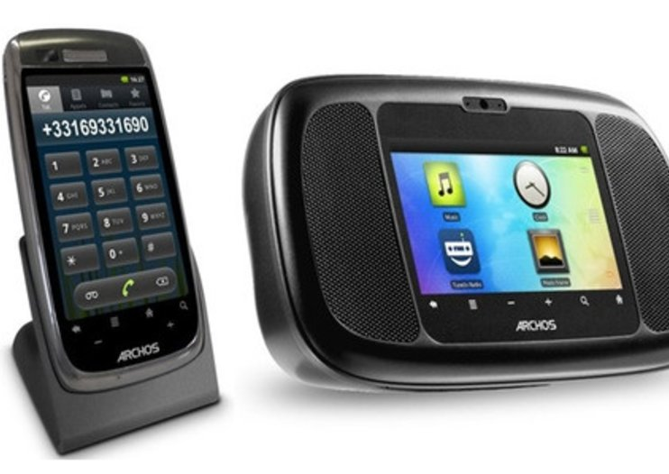 Archos Android assault accelerates with radio and home phone options