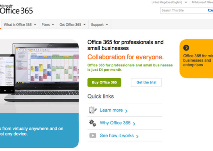 Microsoft Office 365 for Professionals goes live, priced, now waiting for your docs