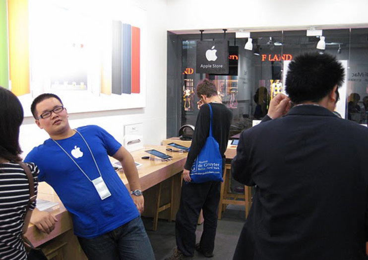 Chinese fakery continues - this time it's Apple Stores
