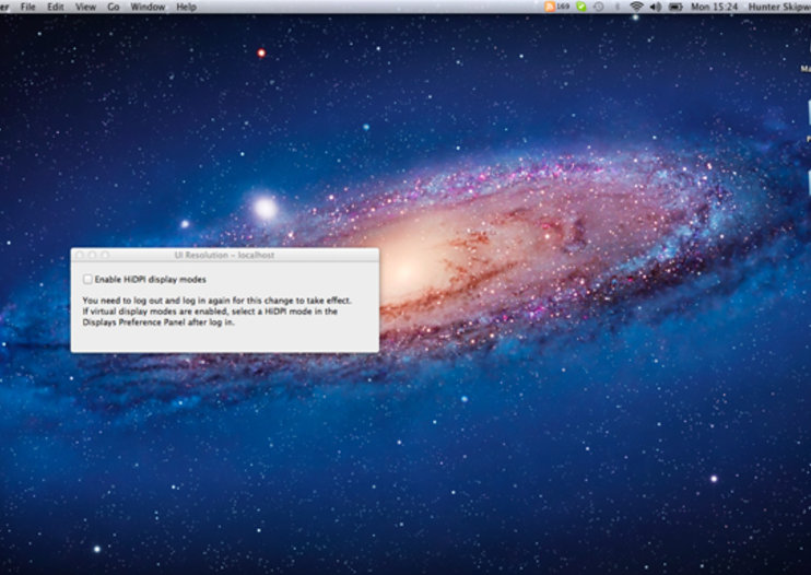 Mac OS X Lion developer settings hint at new Retina monitors
