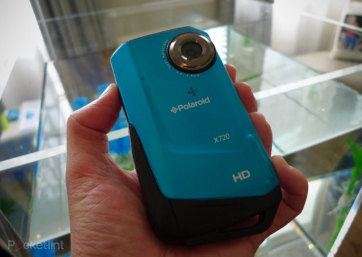 Polaroid X720E waterproof camcorder hands-on