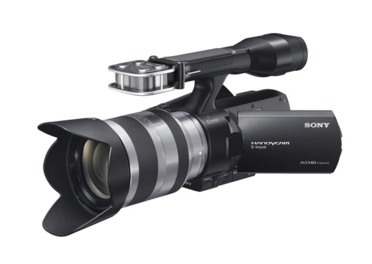 "Sony shoots in with NEX-VG20E ""best ever"" Handycam"