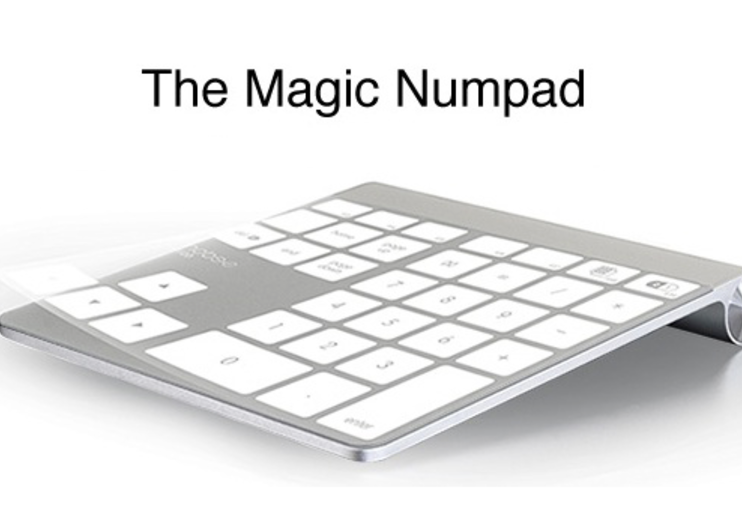 Mobee Magic Numpad gives Apple trackpad a numerical edge