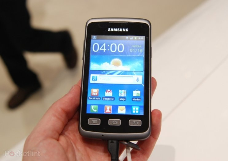 Samsung Galaxy Xcover double-hard handset pictures and hands-on