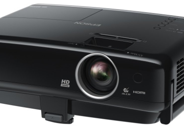 Epson MG-850HD projector wants an Apple a day