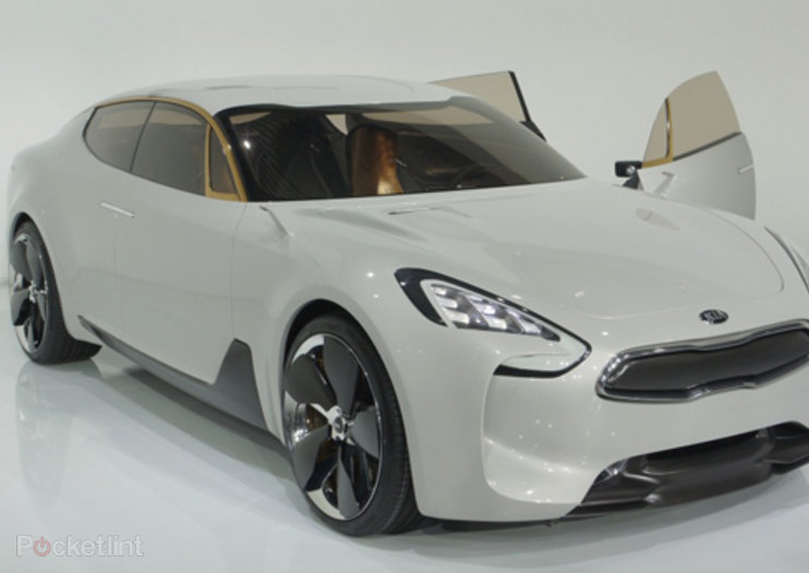Kia GT Concept pictures and hands-on, with video