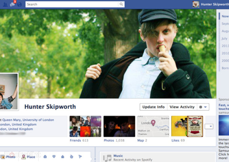Facebook explored: New design features explained