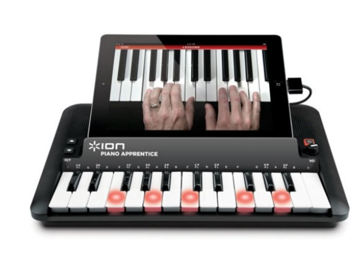Ion Piano Apprentice iPad keyboard lets you take on keyboard cat