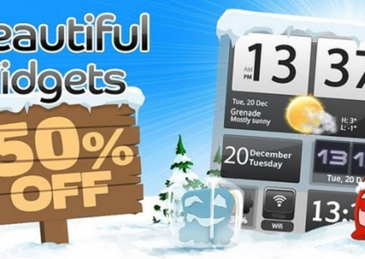 APP OF THE DAY: Beautiful Widgets review (Android)