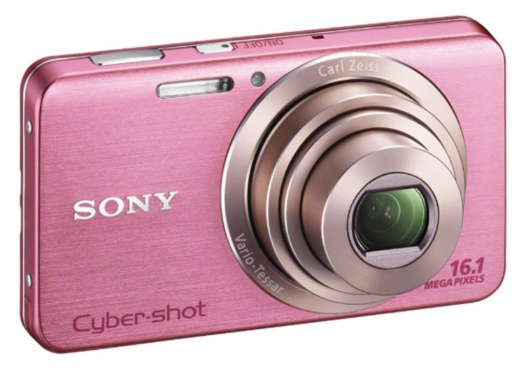 Sony Cyber-shot W630 headlines W series updates