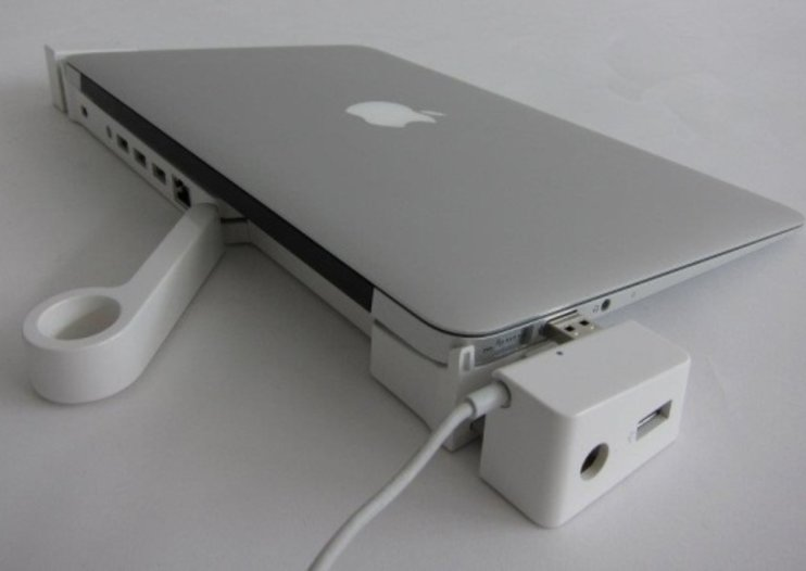 LandingZone MacBook Air docking station becomes a reality