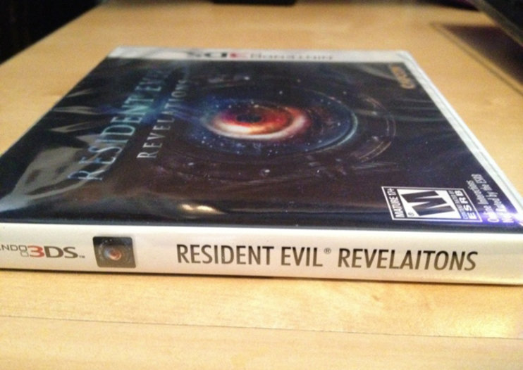 Capcom embarrassed by 'Resident Evil: Revelaitons' cover typo