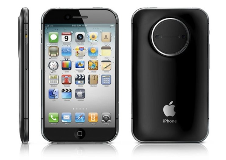 iPhone PRO would house 3D camera and detachable DSLR lens