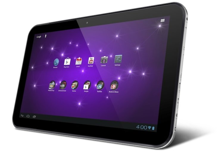 Toshiba adds three to its tablet Excite Android range