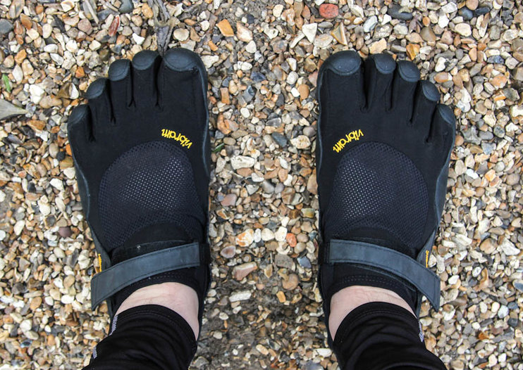 Vibram Five Fingers KSO Barefoot pictures and hands-on