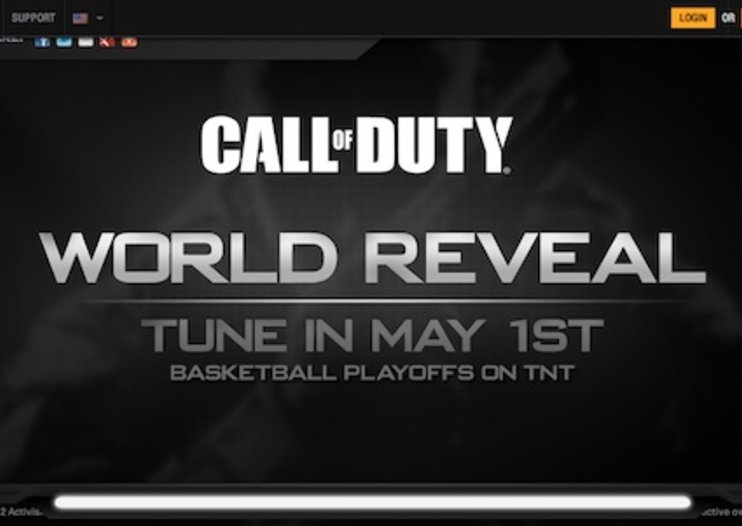 Call of Duty set for world reveal on 1 May