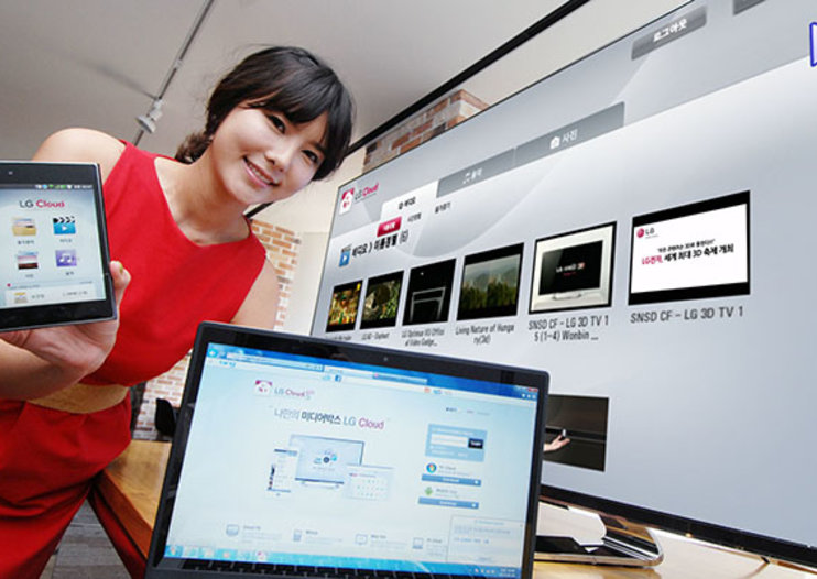 LG beats Samsung to the punch in announcing multiple screen cloud service