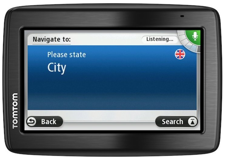 TomTom Via 130 is a voice controlled sat nav