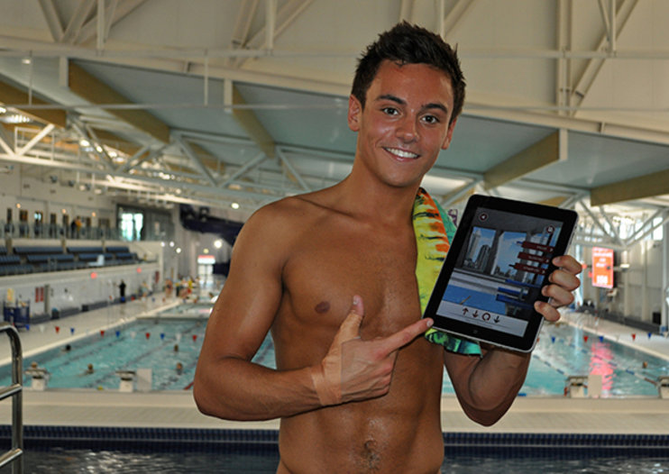 Olympic diving hope Tom Daley gets own iOS game