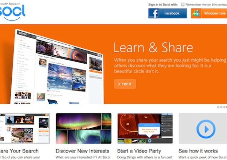 Microsoft launches own social network with So.cl