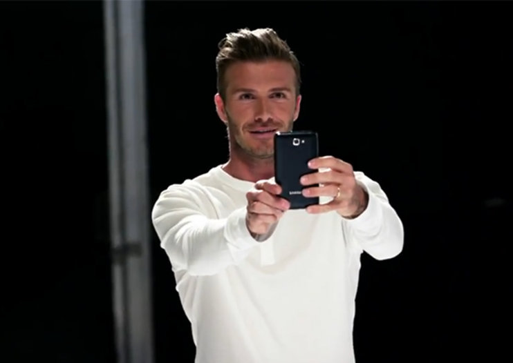 David Beckham uses football skills and Samsung Galaxy Note to play Ode to Joy (video)