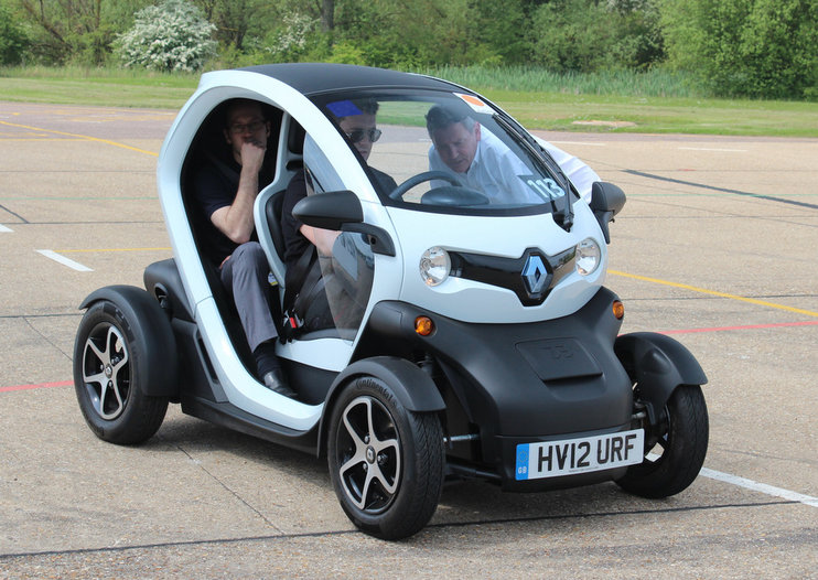Renault Twizy pictures and hands-on