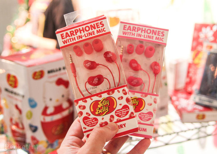 Jelly Belly headphones make for perfect Jelly Bean smartphone accessory