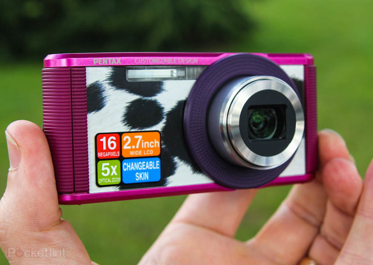 Pentax Optio LS465 pictures and hands-on