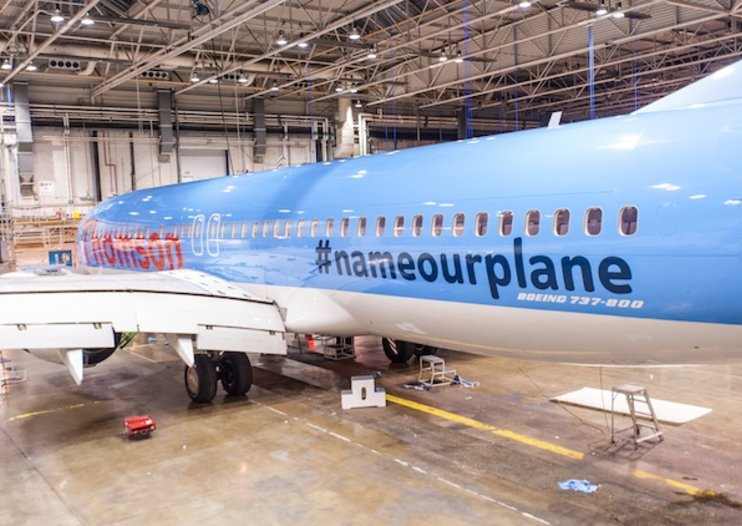 Thomson Airways to name plane after member of public following Twitter campaign