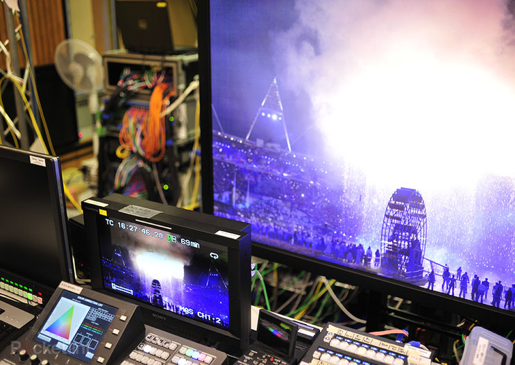Super Hi-Vision eyes-on: London 2012 Olympics in 8k