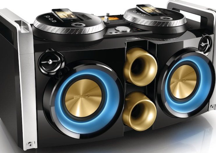 Philips DJ-Dock sound system for the iPhone makes you king of the decks