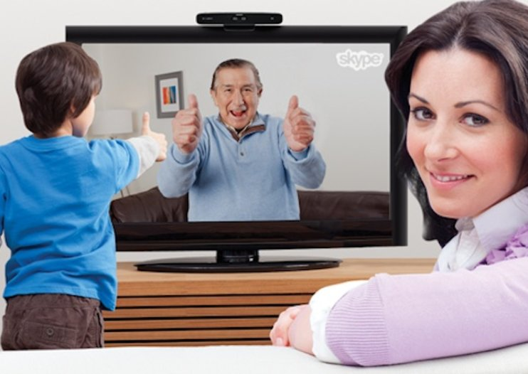 Skype calls on HDTV thanks to Logitech TV Cam HD