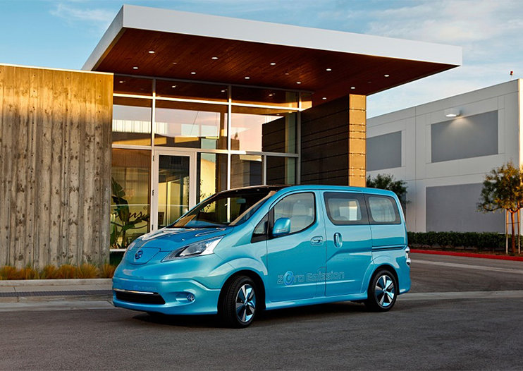 Nissan e-NV200: Electric taxi to trial in London in 2013