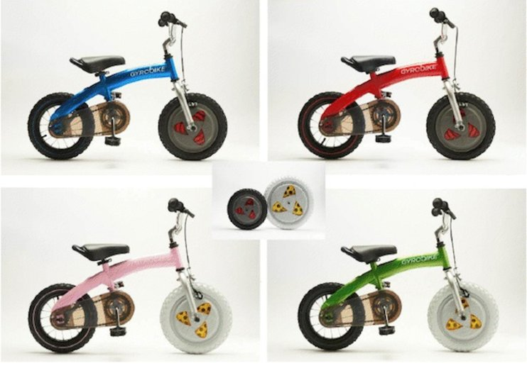 Gyrobike's Gyrowheel looks set to retire bike stabilisers for good